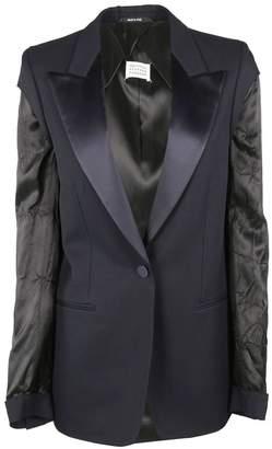 Maison Margiela Textured Sleeve Blazer