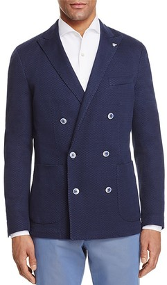 Canali Textured Washed Double-Breasted Sport Coat $895 thestylecure.com