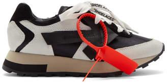 Off-White Off White White and Black HG Runner Sneakers