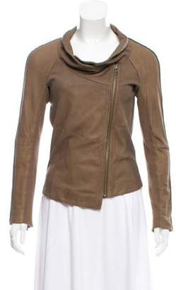 Muu Baa Muubaa Asymmetrical Leather Jacket