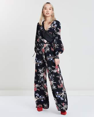 Long Sleeve Jumpsuit Shopstyle Australia