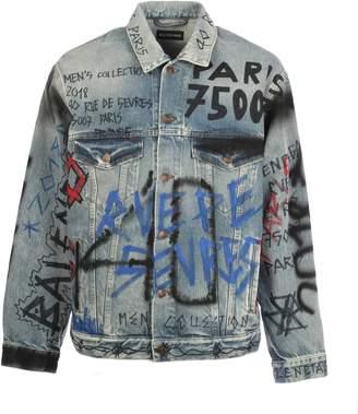 Balenciaga Graffiti Jacket