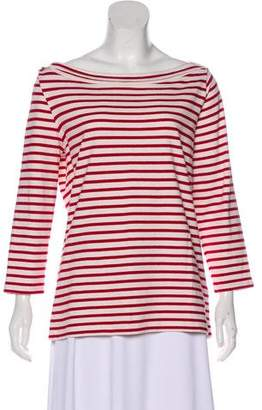 Burberry Striped Bateau Top