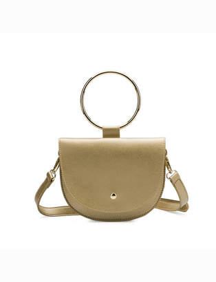 ELOQUII Metal Ring Handbag