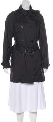 Tumi Hooded Belted Coat