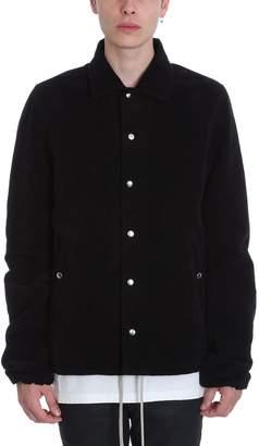 Drkshdw Snap Black Wool Jacket