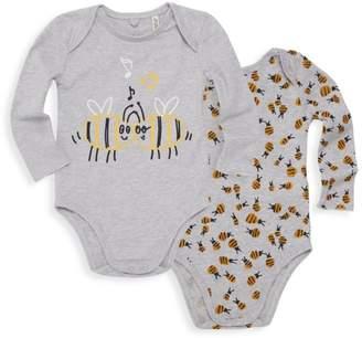 Stella McCartney Baby's Two-Piece Bee Bodysuit Box Set