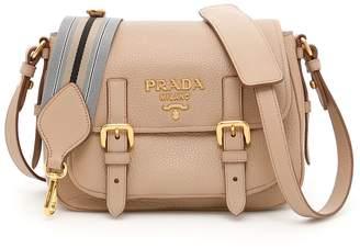 Prada Deer-print Leather Bag