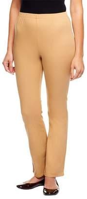Denim & Co. Stretch Petite Boot Cut Leggings