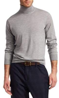 Brunello Cucinelli Wool& Cashmere Turtleneck Sweater