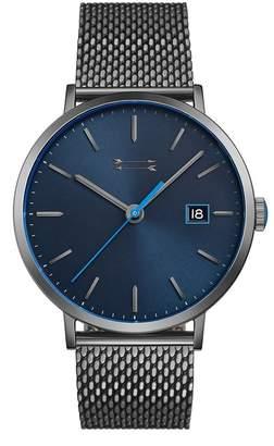 Rebecca Minkoff Norrebro Grey Tone Mesh Bracelet Watch, 40Mm