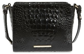 Brahmin Melbourne Carrie Leather Crossbody Bag - Black $195 thestylecure.com