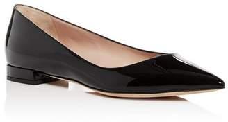 Giorgio Armani Women's Pointed Toe Ballet Flats