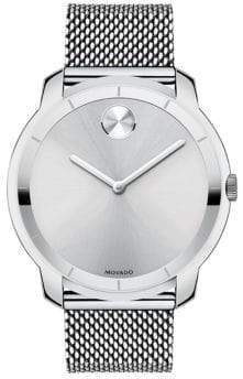 Movado Men's Bold Stainless Steel Watch - Silver