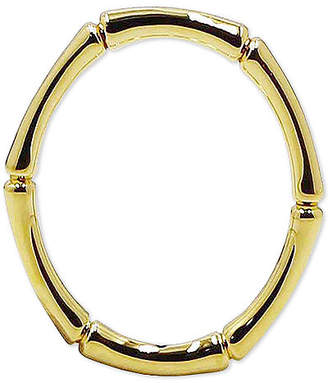 Kesi Jewels Bamboo Look Stacking Ring in 14k Gold