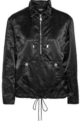 Versace Embellished Satin-Shell Jacket