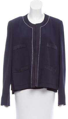 Sonia Rykiel Structured Open Front Jacket Set