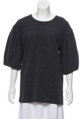 Thakoon Wool Short Sleeve Sweater
