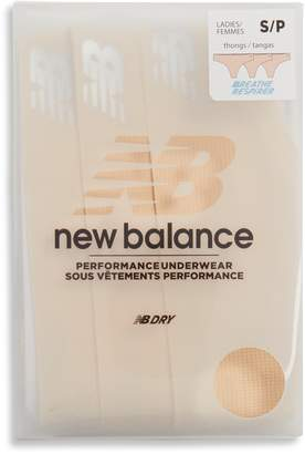 New Balance Breathe 3-Pack Thongs