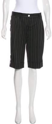 Dolce & Gabbana Stripe Bermuda Shorts Black Stripe Bermuda Shorts