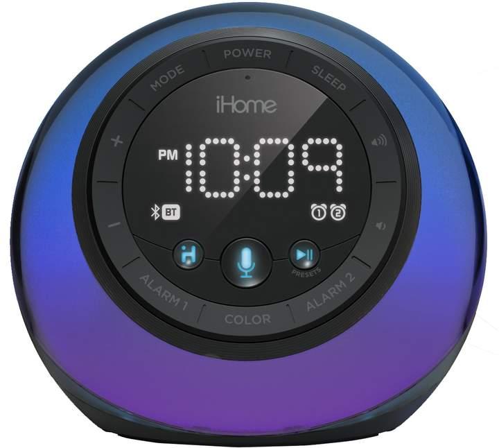 Ihome iHome App-Enhanced Bluetooth Color-Changing Dual Alarm Clock Radio