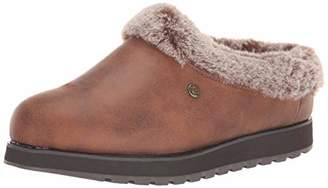 Skechers BOBS Women's Keepsakes-R E M Faux Fur Lined Shootie Memory Foam Slipper