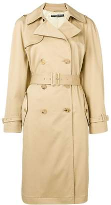 Ermanno Scervino double-breasted trench coat