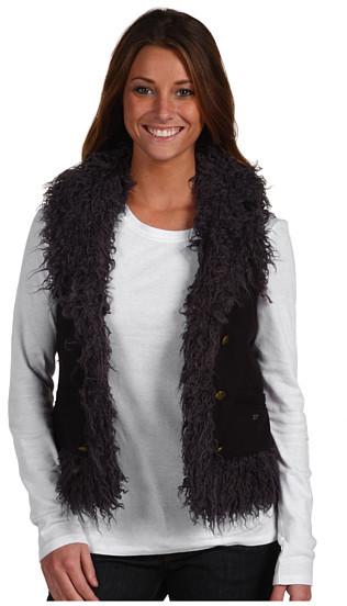 Juicy Couture - Reversible Faux Mongolian Fur Vest
