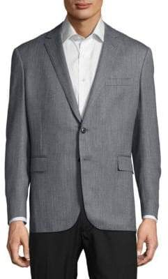 Ralph Lauren Textured Wool-Blend Jacket