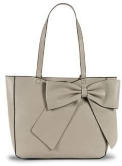 Karl Lagerfeld Canelle Faux-Leather Bow Tote