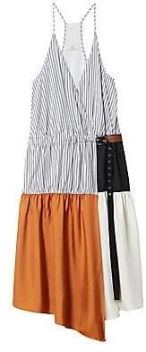 Tibi Women's Camille Collage Wrap Dress