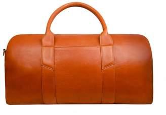 Issara Leather Weekender Duffel Bag