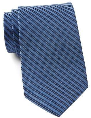 Calvin Klein Mirror Pin Stripe Silk Tie