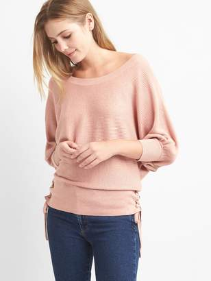 Gap Side-lace boatneck sweater