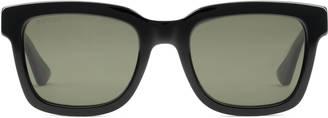 Square-frame acetate sunglasses $260 thestylecure.com