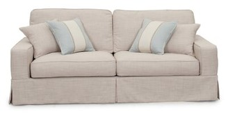 Rosecliff Heights Glenhill Slipcovered Sofa Rosecliff Heights