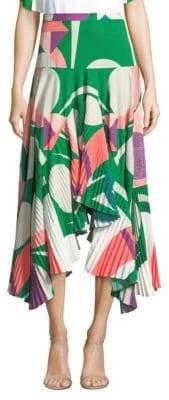 Alexis Liann Crepe Midi Skirt