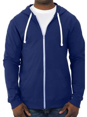 Fruit of the Loom Big Men's 100% Sofspun Cotton Jersey Full Zip Hood