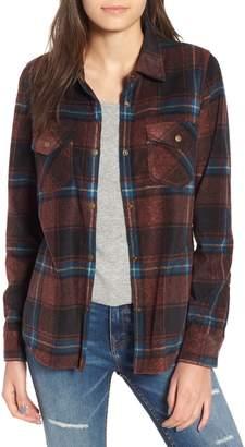 O'Neill Zuma Plaid Fleece Flannel Shirt