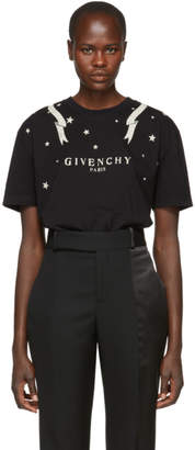 Givenchy Black Gemini Logo T-Shirt