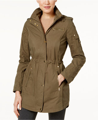 Laundry by Shelli Segal Hooded Utility Anorak $180 thestylecure.com