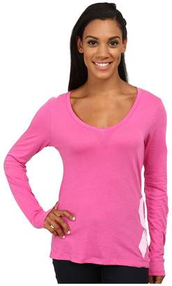Columbia Tested Tough in Pinktm Graphic Long Sleeve Shirt Women's Long Sleeve Pullover