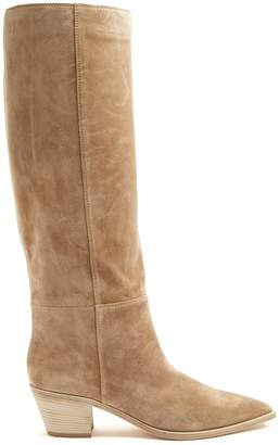 Gianvito Rossi Daenerys 45 slouch suede boots