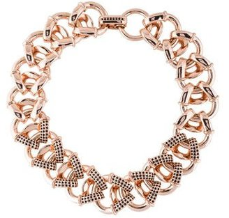 Giles & Brother Encrusted Cortina Chain Necklace $65 thestylecure.com