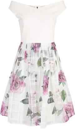 Ted Baker Licious Floral Bardot Dress