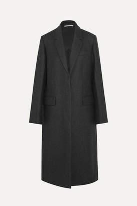 Stella McCartney - Oversized Split-side Wool Coat - Charcoal