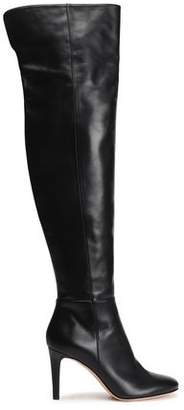 Gianvito Rossi Dree Leather Thigh Boots