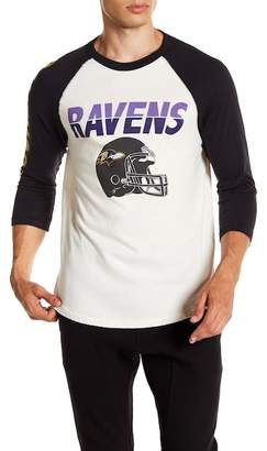 Junk Food Clothing Baltimore Ravens All American Raglan Shirt