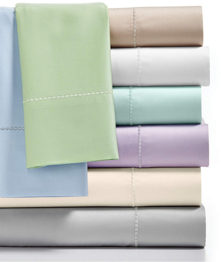 Martha Stewart Collection Full Open Stock Fitted Sheet, 300 Thread Count 100% Cotton, Created for Macy's Bedding