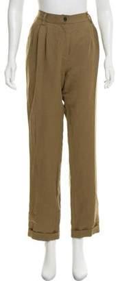 Giada Forte High-Rise Straight-Leg Pants w/ Tags